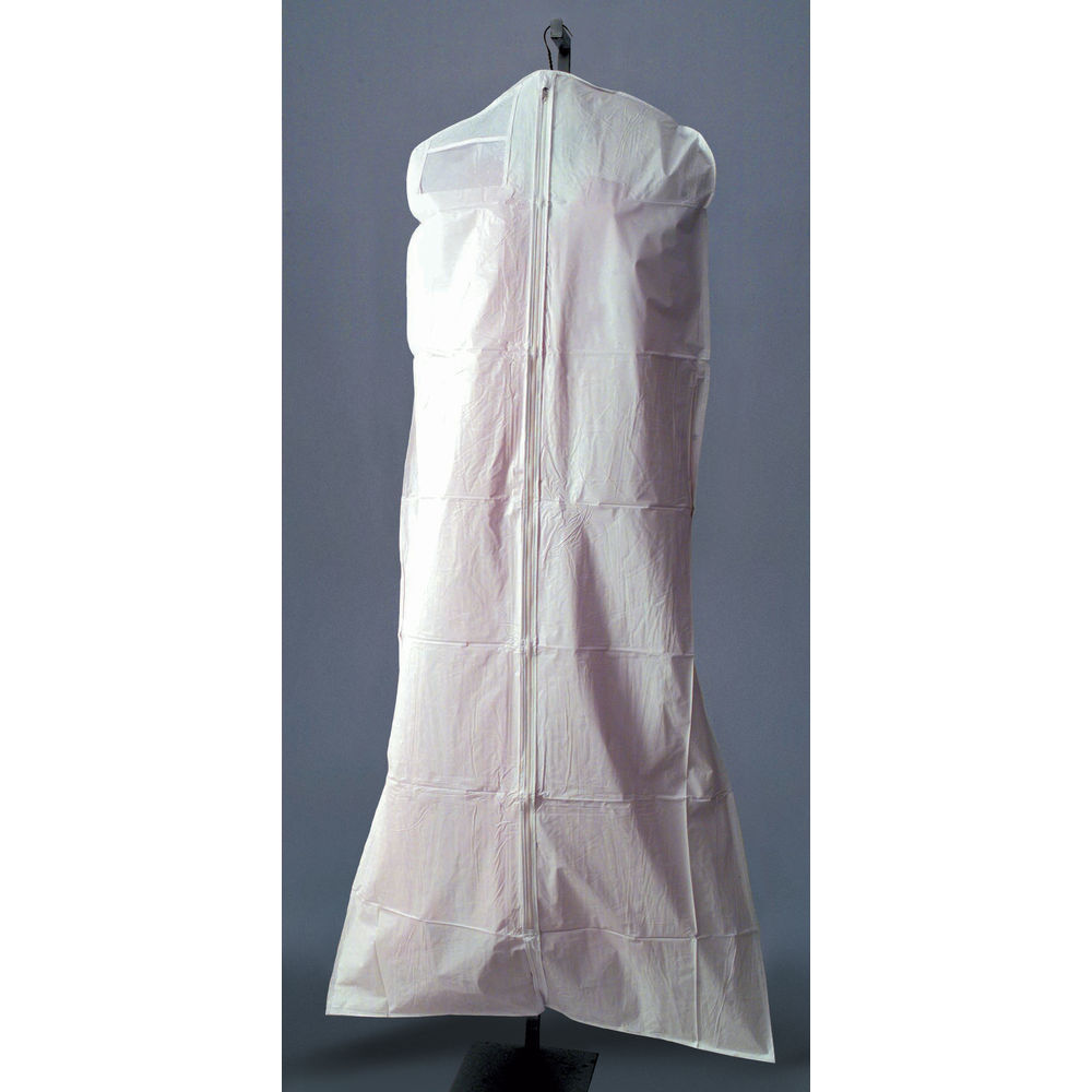 72 (L) White Garment Bags