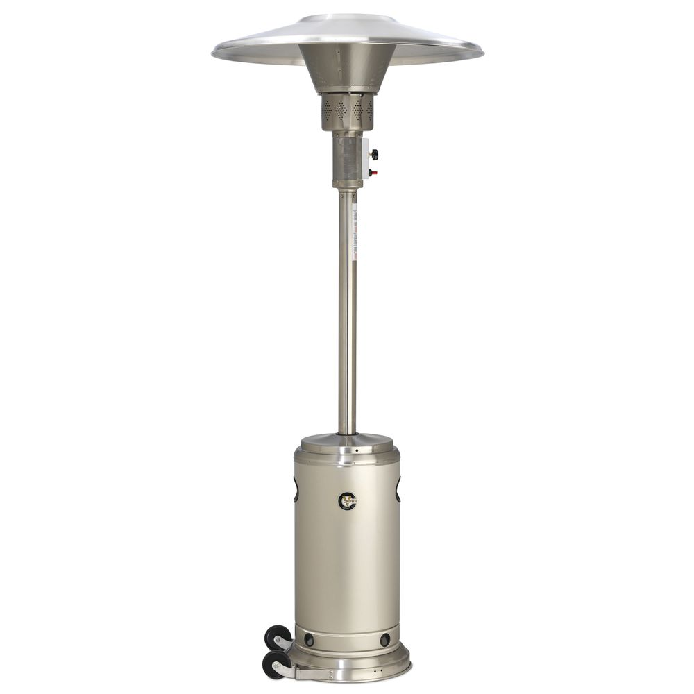 HEATER, PATIO, PORTABLE, STAINLESS STEEL
