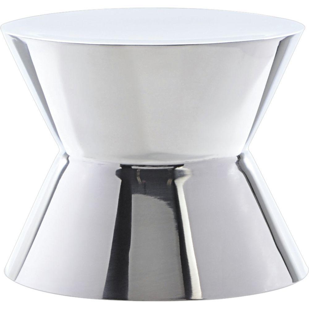 "Round Stainless Steel Pedestal Riser 7"" dia x 6""H"