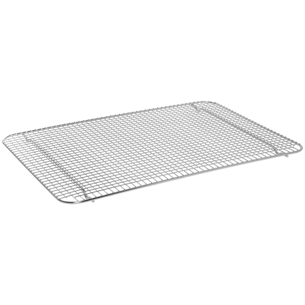 "Cooling And Glazing Wire Rack 24""L x 16 1/2""W x 3/4""H Stainless"