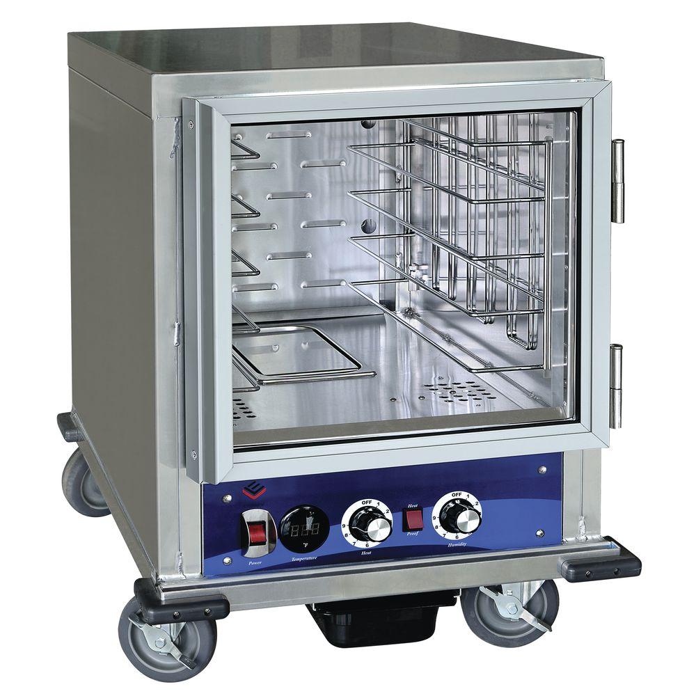 HUBERT 5 Pan Slide Half Size Insulated Universal Heater Proofer