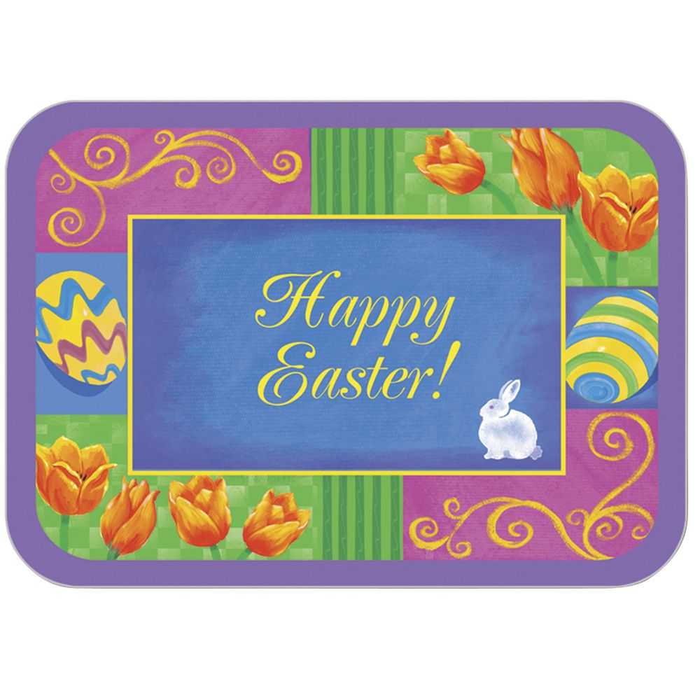 """LINER, TRAY, EASTER, 12.5X16.5"""", 100/PK"""