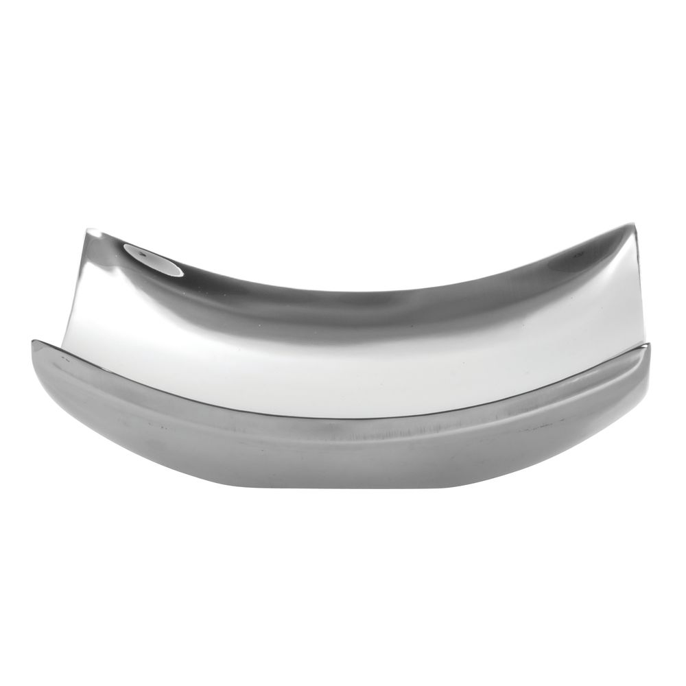 TRAY, CURVED, DOUBLE WALL, S/S, SMALL
