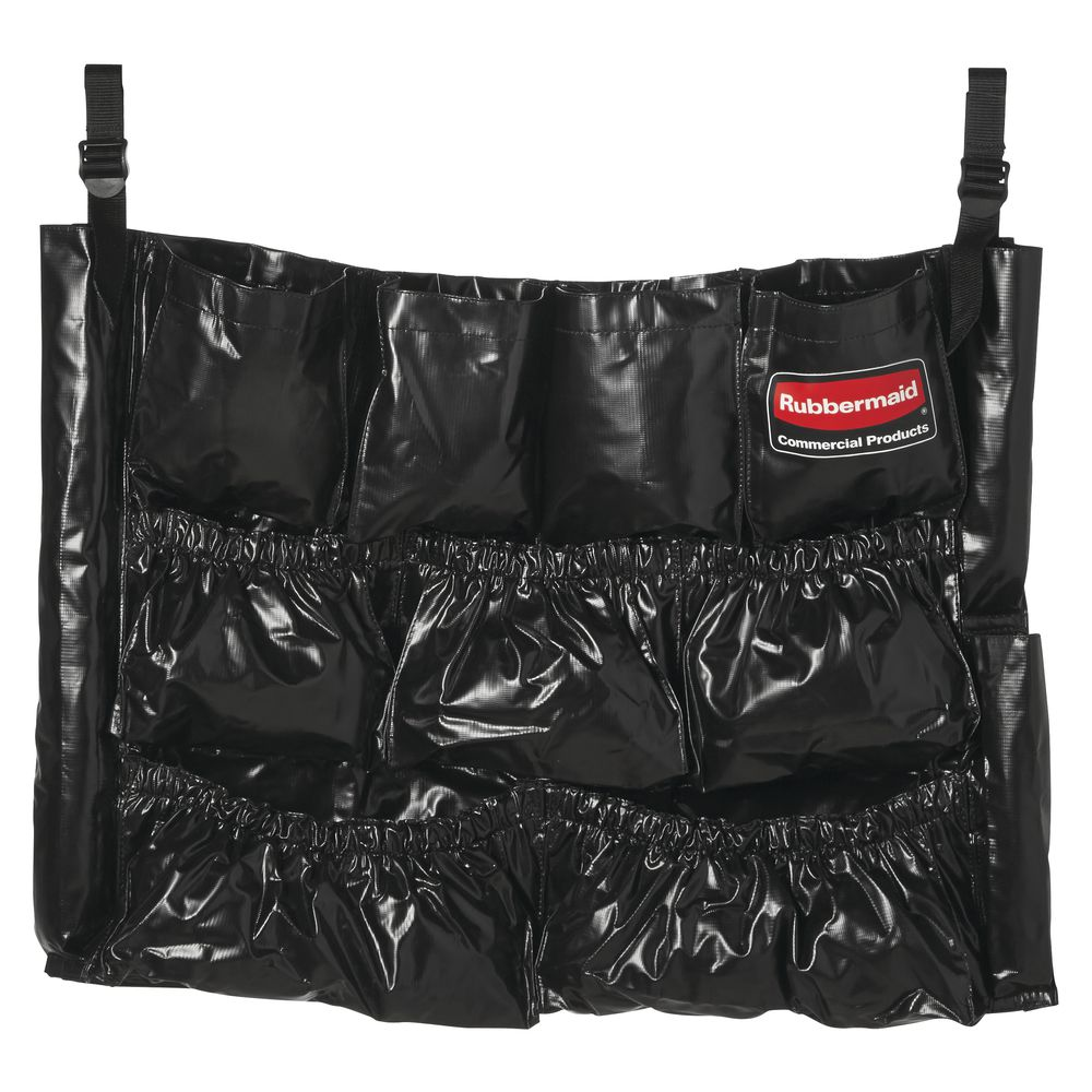 Rubbermaid Black Vinyl Caddy Bag For 20 32 And 44 Gal