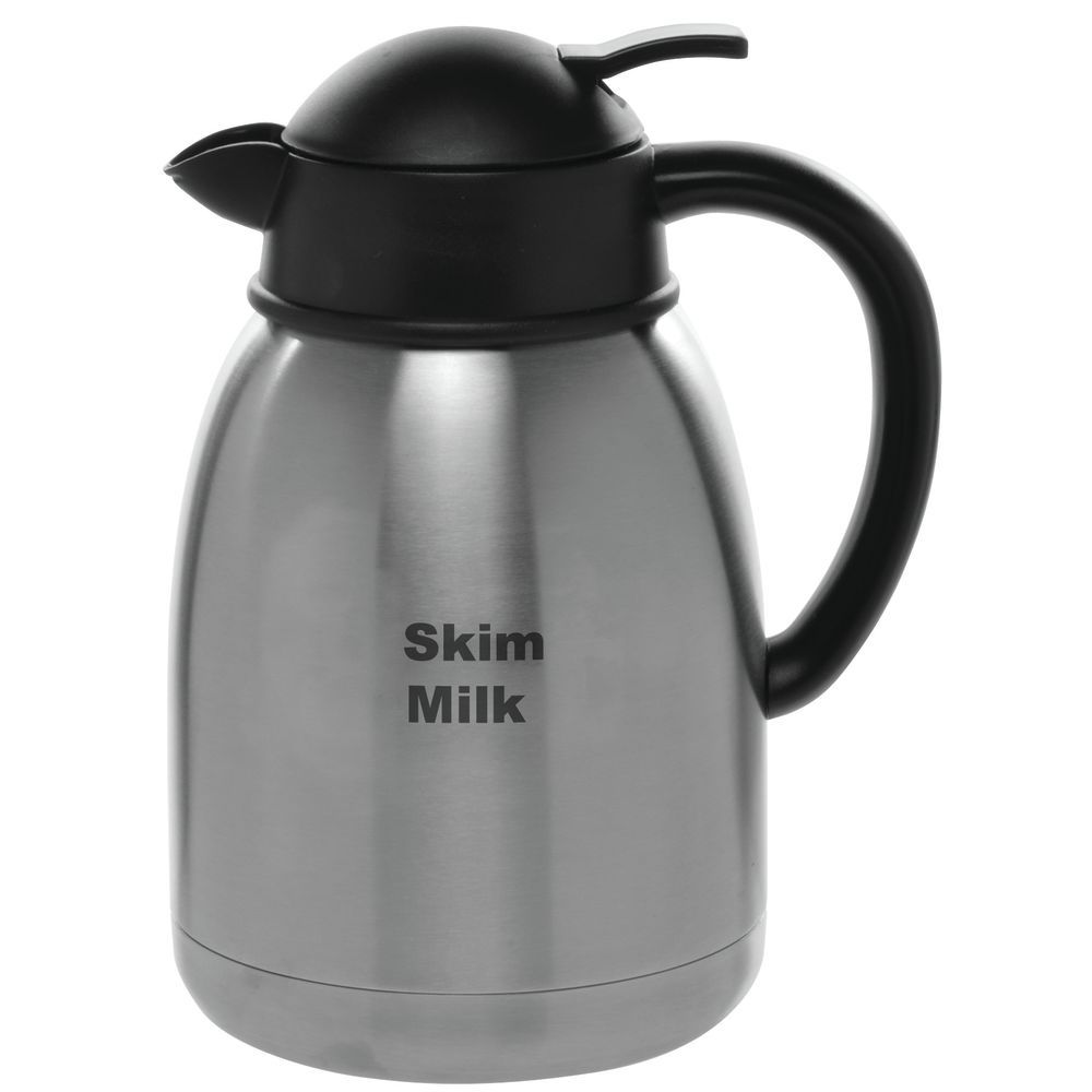 DECANTER, 1.5L, W/SKIM MILK, STAINLESS
