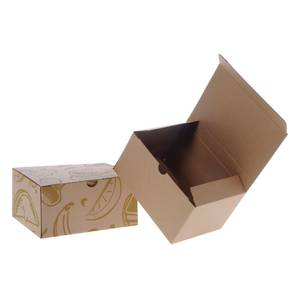 BOX, CORRUGATED, LUNCH