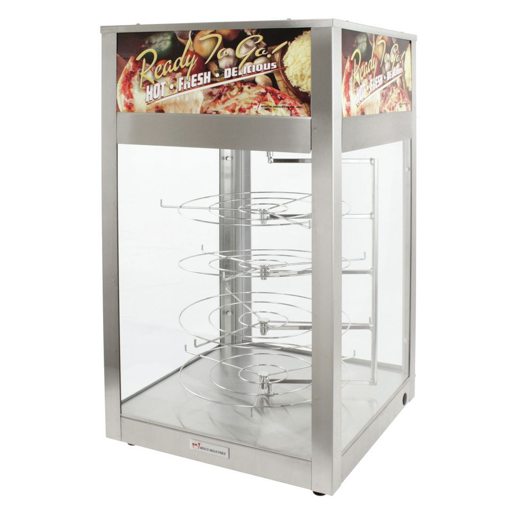 Humidified Food Warmer for Hot Fresh Pizza