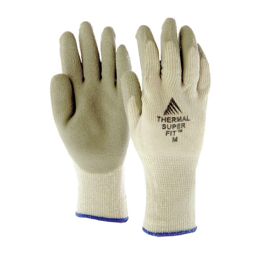 Super-Fit Thermal Work Gloves Medium