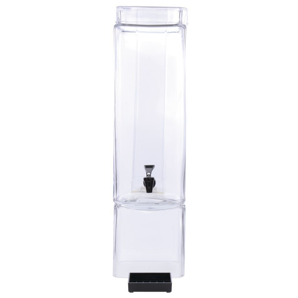 DISPENSER, SQUARE, 3 GAL, GLASS