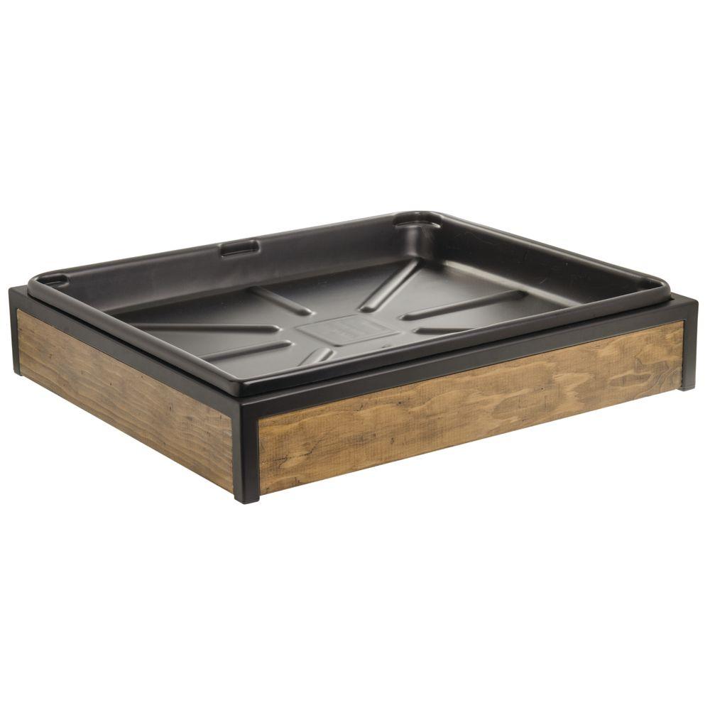 "Expressly HUBERT® Cutting Board Reclaimed Wood 221/2""L x 191/4""W x 51/4""H"