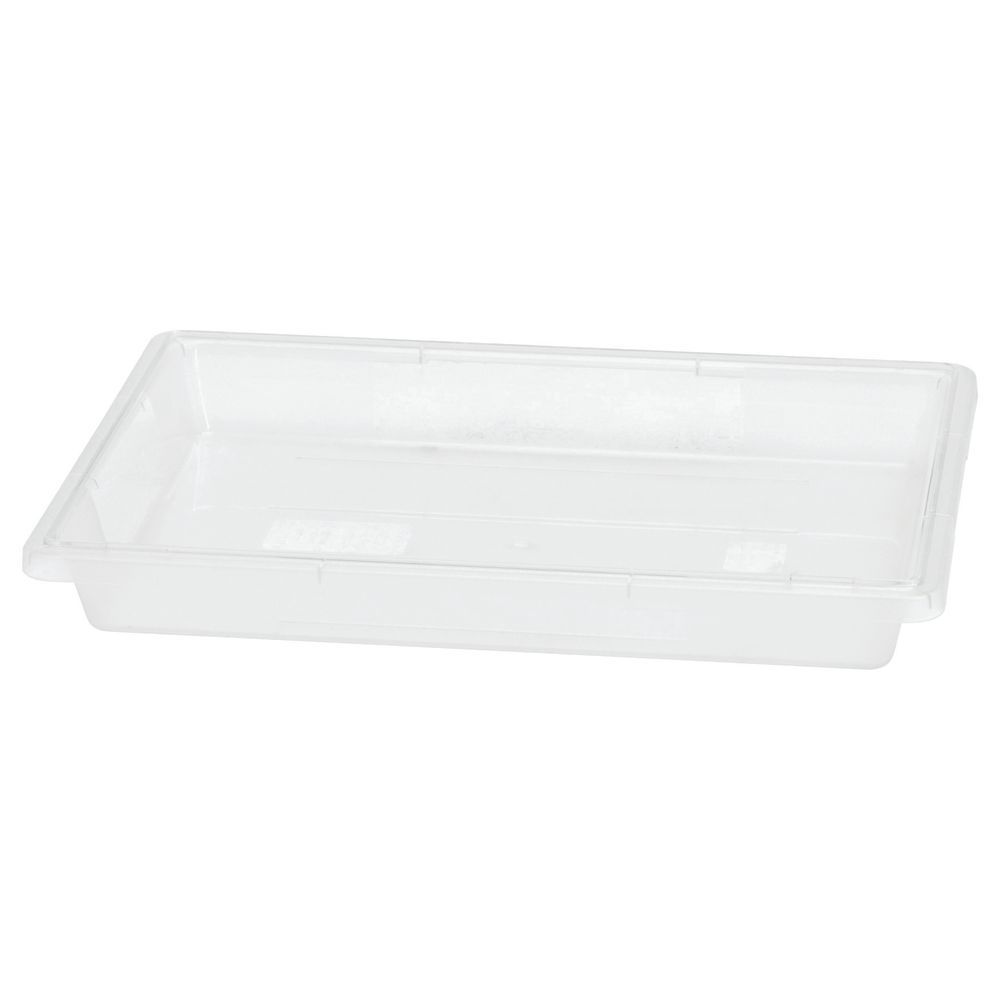 Hubert® Clear Storage Bins for Food Prepping