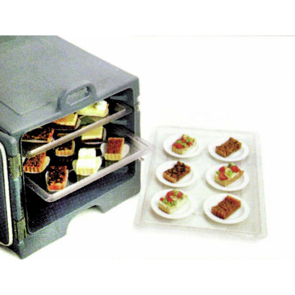 Hubert® Clear Storage Bins for Food Prepping