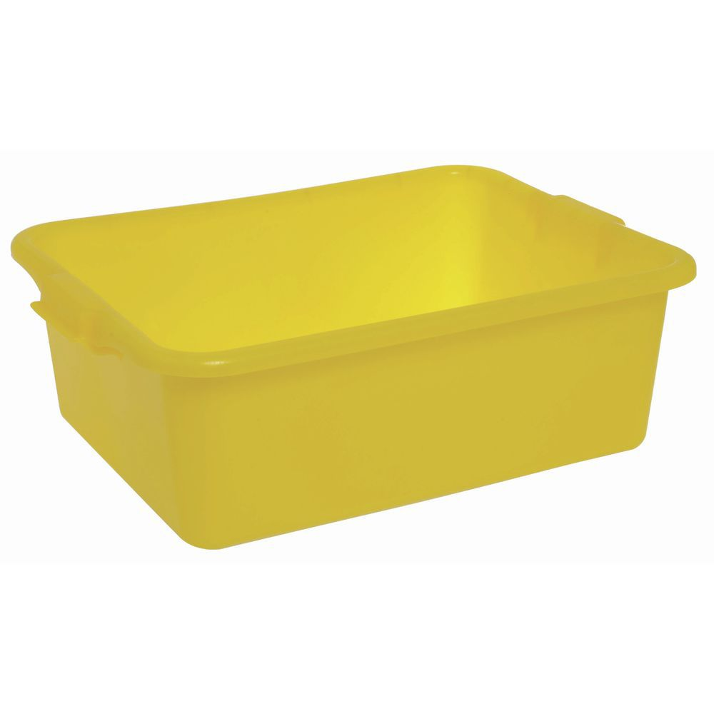 """Food Boxes Solid 20""""L x 15""""D x 7""""H Yellow"""