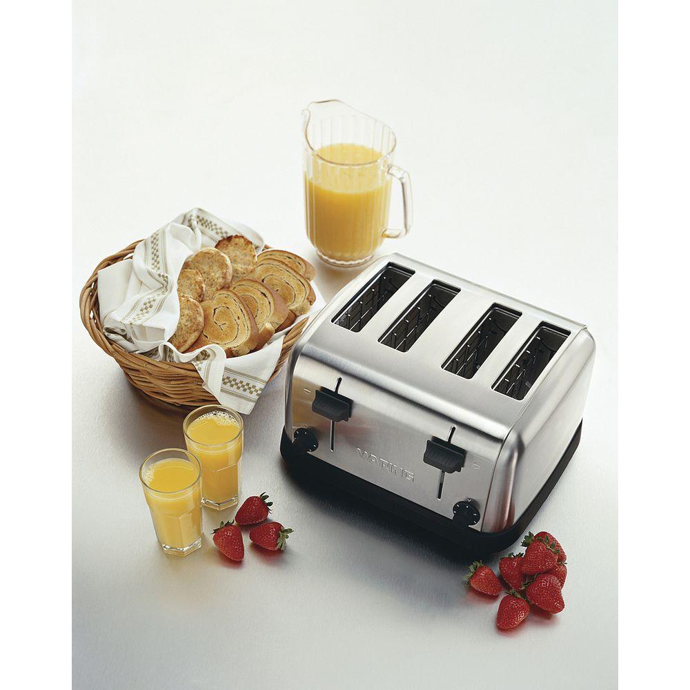 Waring Commerical 4 Slice Toaster 120V 225 Slices Per Hour