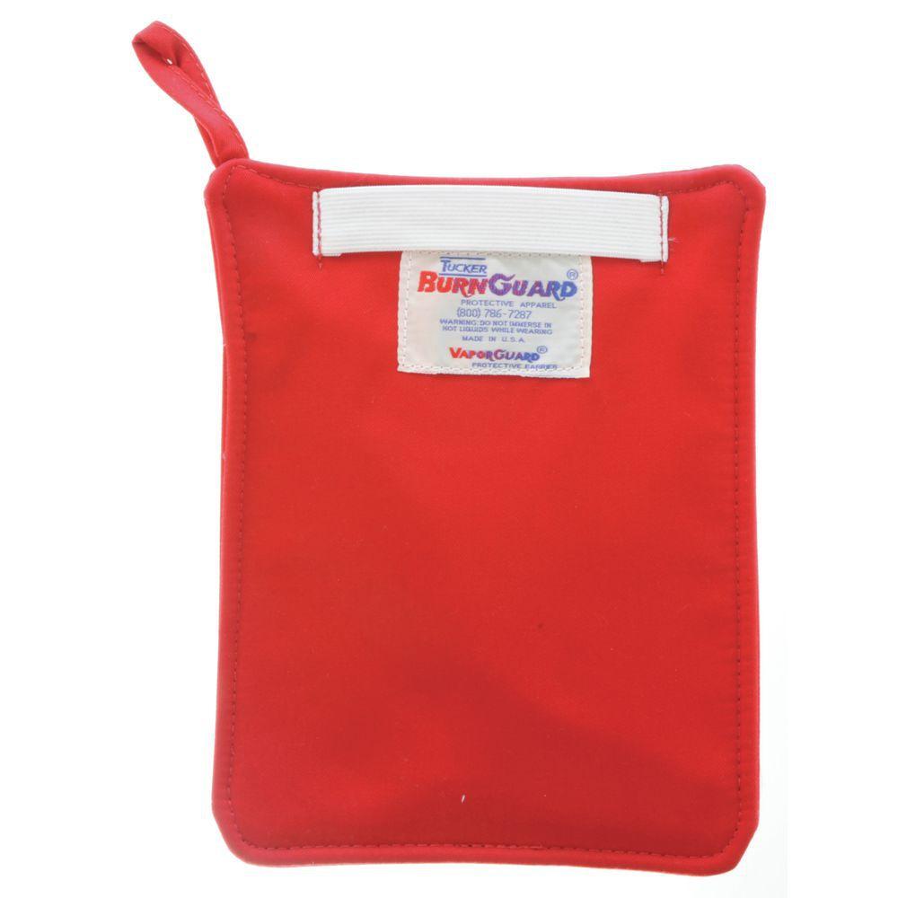 HOT PAD, BAKER'S, RED, BRNGUARD C/P, W/STRAP