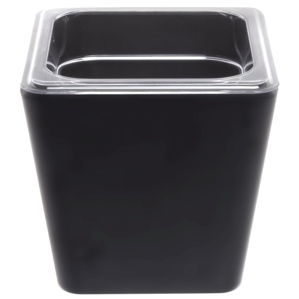 HOUSING, BLACK, MELAMINE, SIXTH SZ
