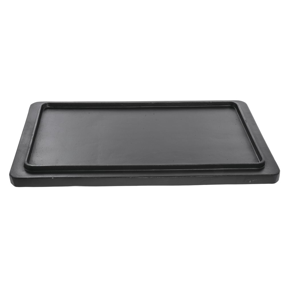TILE, GRIDDLE, FULL SIZE, BLACK, ALUMINUM
