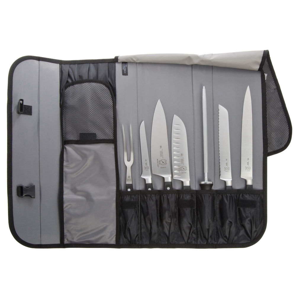 KNIFE, SET, 10 PC W/ROLL, RENAISSANCE, BLK