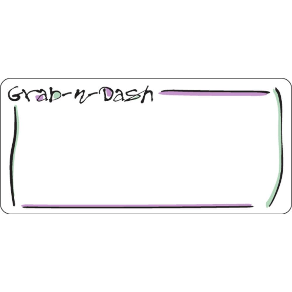 """LASER, GRAB-N-DASH, 1-5/8""""HX3.5""""L, 780/PK"""