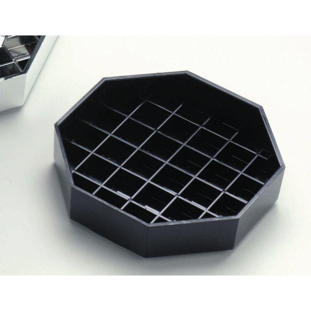 Black Octagon Drip Tray