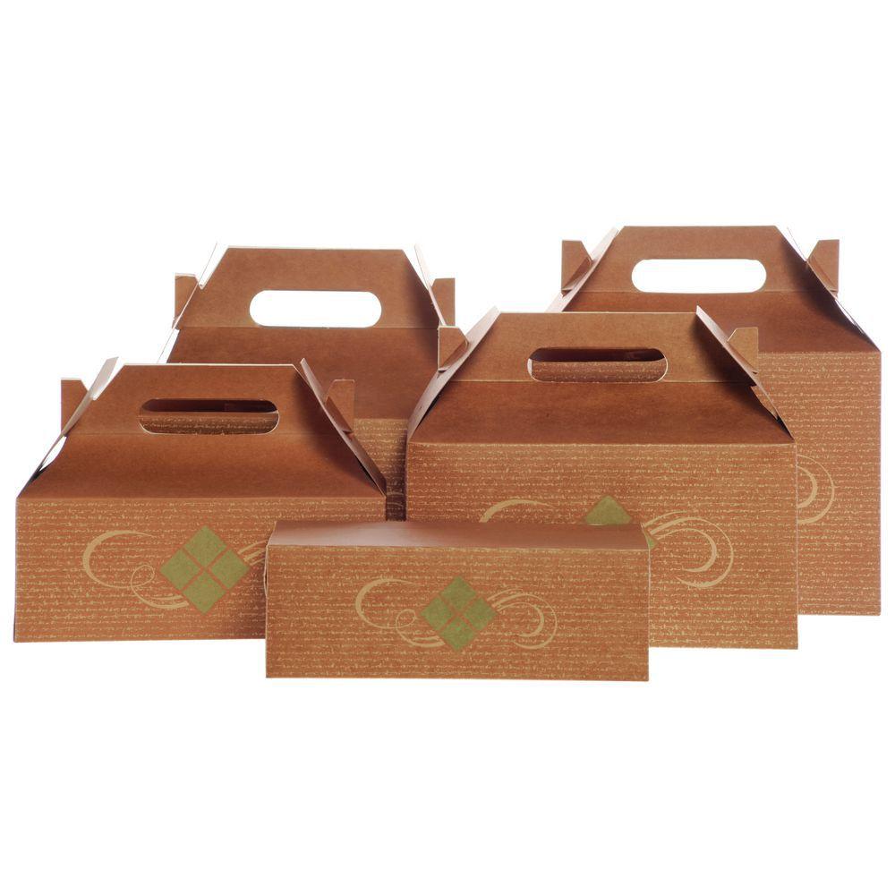 BOX, MEAL, HEARTHSTONE, 8-7/8 X 4-7/8 X 3H