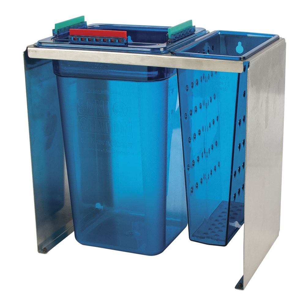 Sani Station Counterstand With Sanitizer