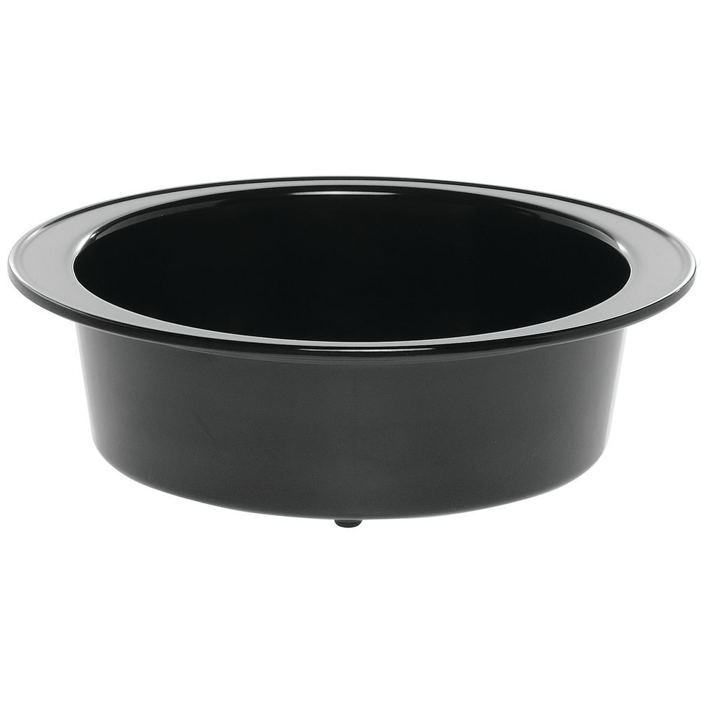 """Oval Baker with Rim for Tile with 2 Oval Cutouts in Black Melamine 9""""L x 12""""W x 4""""H"""