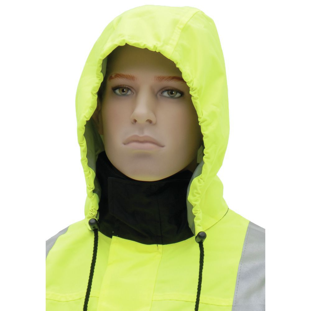 JACKET, BOMBER, HI-VIS, 4-WAY, 5XL