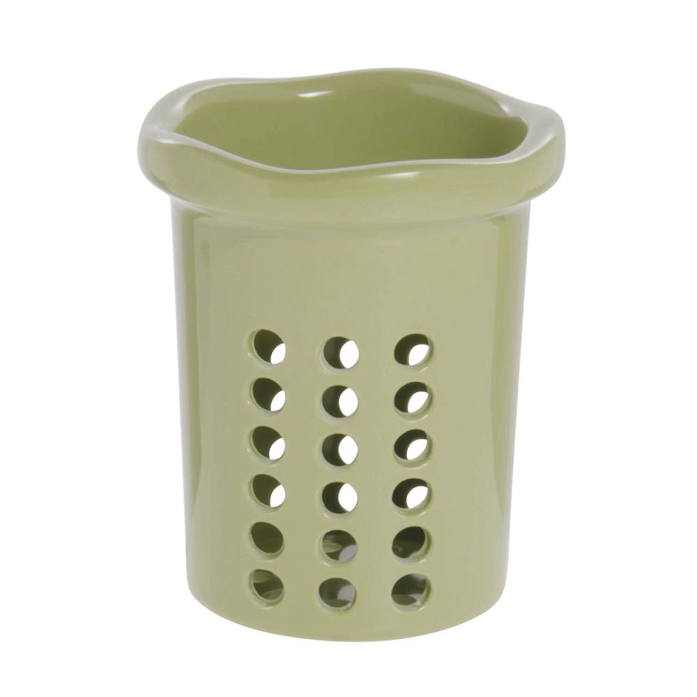 Expressly Hubert® Condiment Cylinder Willow Green Melamine