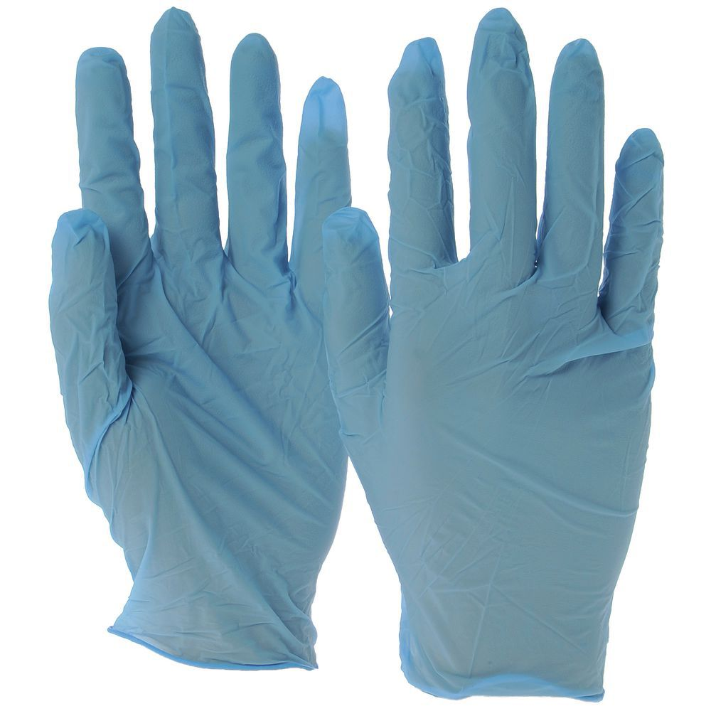 XLarge Disposable Gloves 4 Mil Nitrile Powder Free