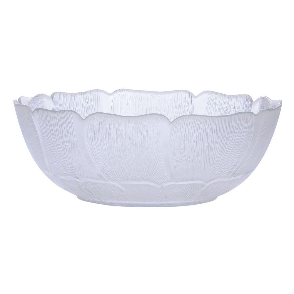 Cardinal Fleur Glass Bowl 70 Oz