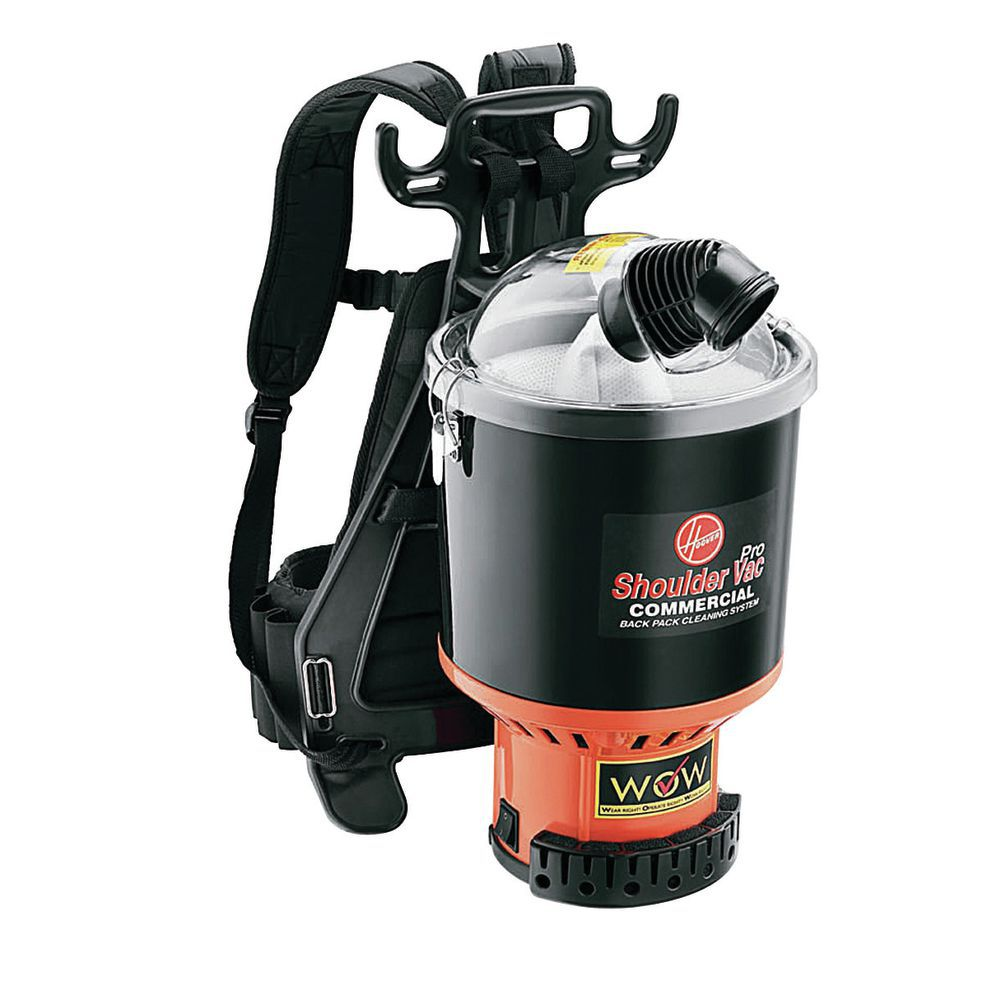 Hoover 6 5 Qt Lightweight Backpack Vacuum