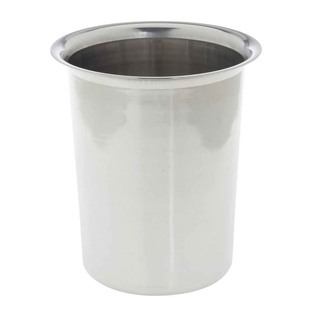 CYLINDER, CUTLERY, PLAIN STAINLESS-NO HOLE