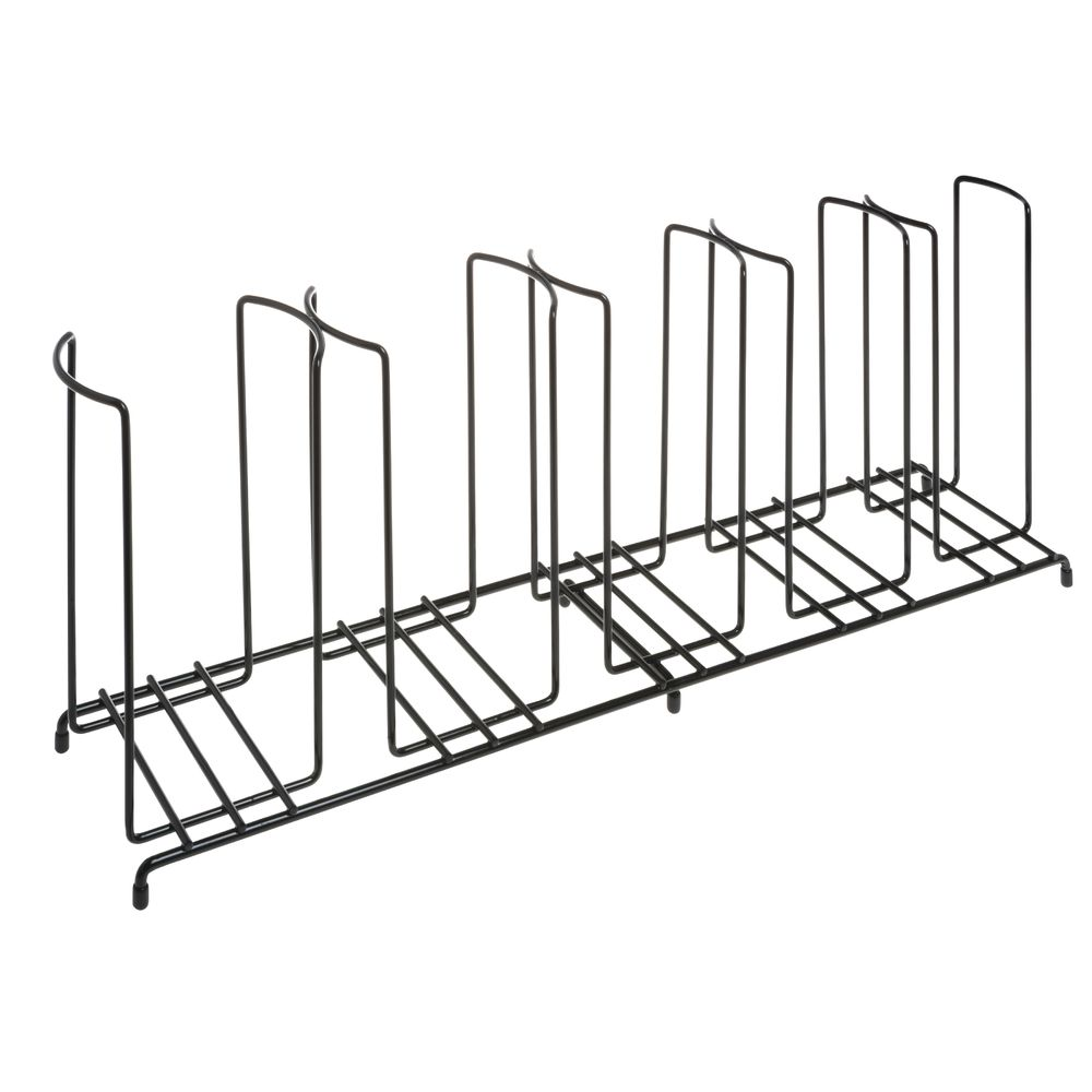 ORGANIZER LID + CUP, WIRE RACK 5-SECTION