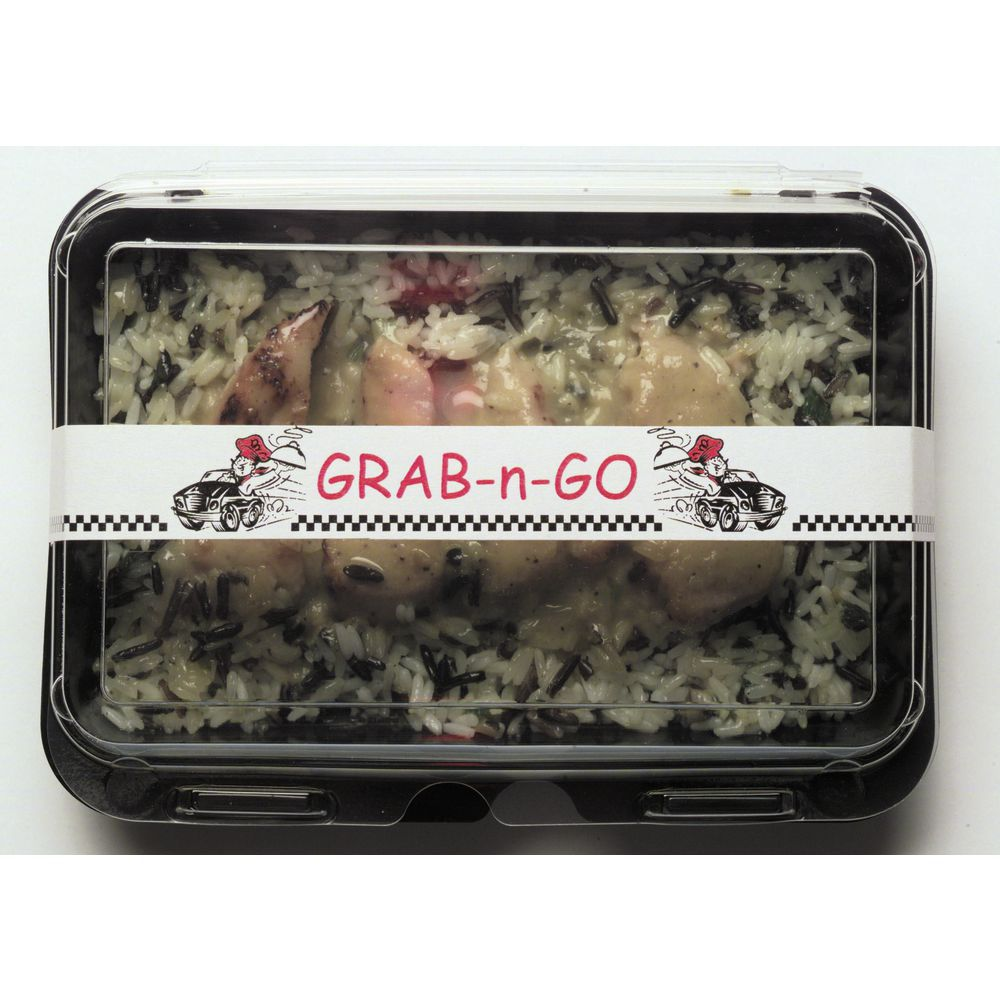 "Merchandising Bandit Label Grab 'N' Go With Car Graphics 13 3/4""L x 1""H"