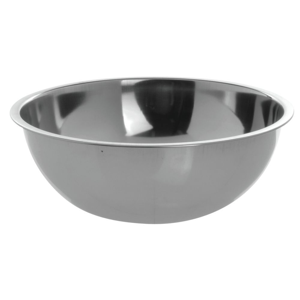 "Hubert Heavy Duty Stainless Steel Mixing Bowl 3 Qt 9 3/4"" Dia"