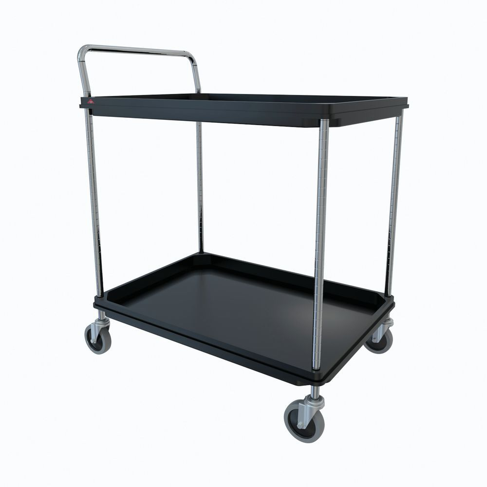 CART, DEEP LDE UTLY, 2 SLF, 20X30, BLACK
