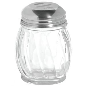 SHAKER, CHEESE, 6 OZ, SLOTTED S/S TOP