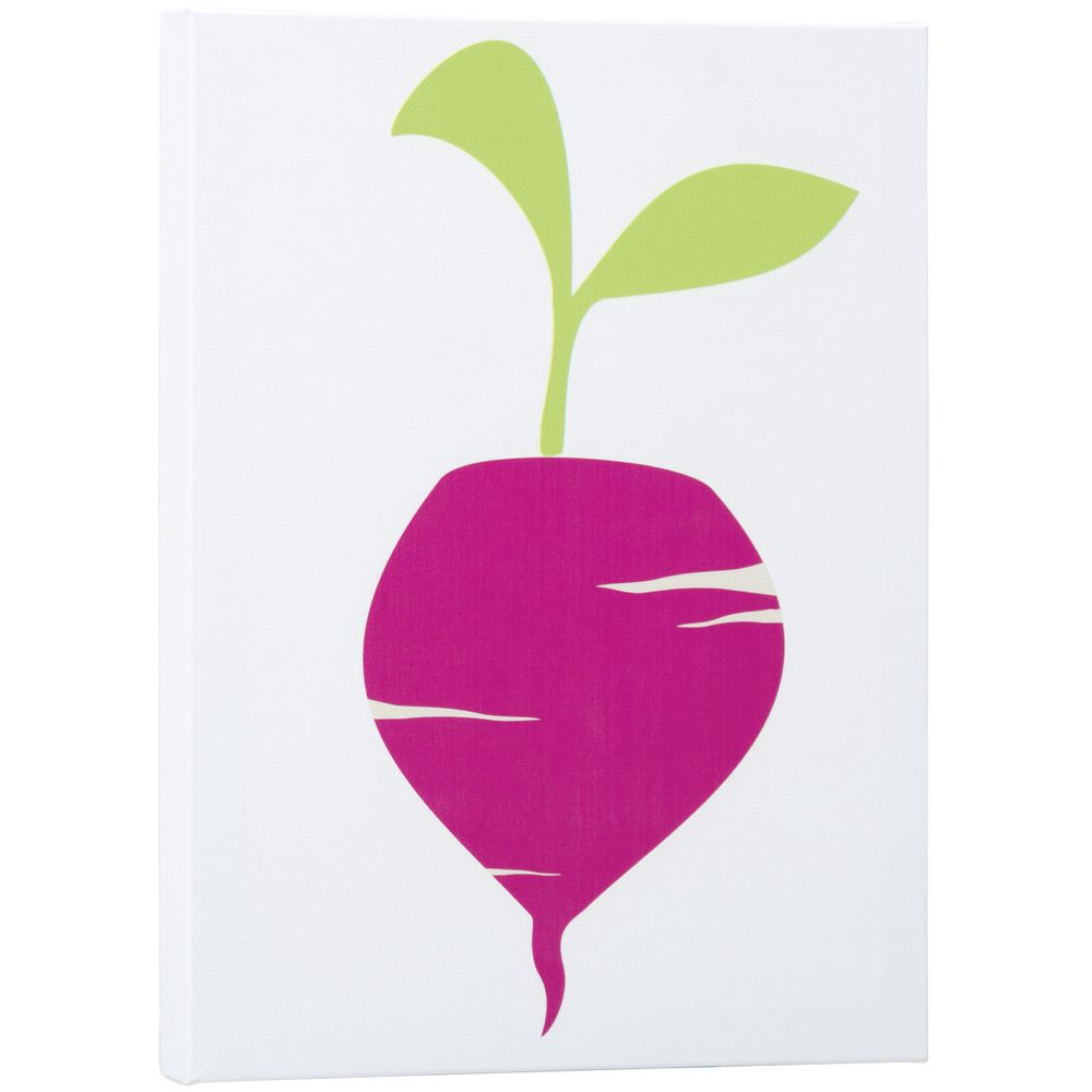 Radish Canvas Wall Art