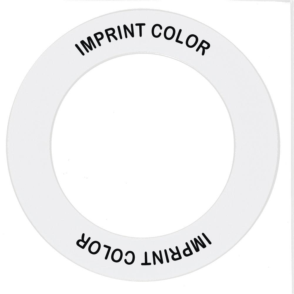 NECK RING, CONDIMENT DSPR WHITE/BLKID