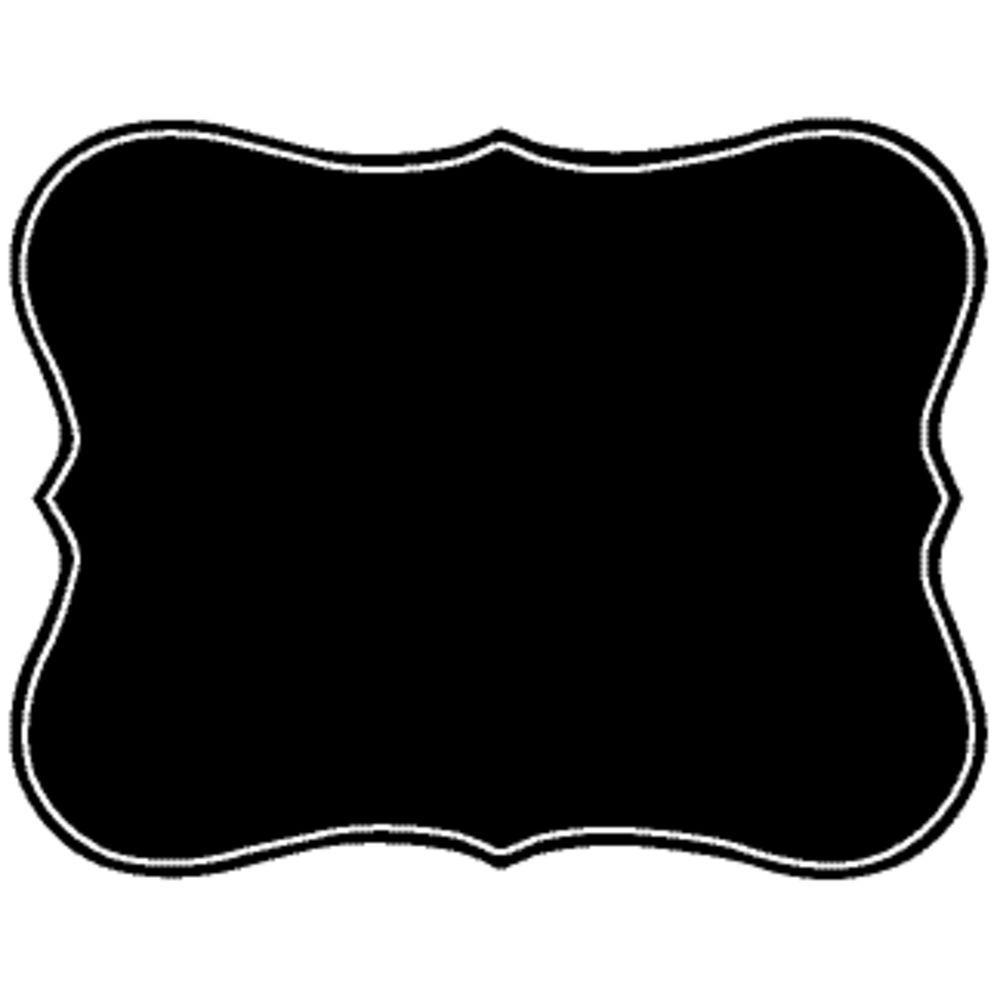 TAG, 360 FLEX, BLACK, VINTAGE SCROLL, 12/BAG