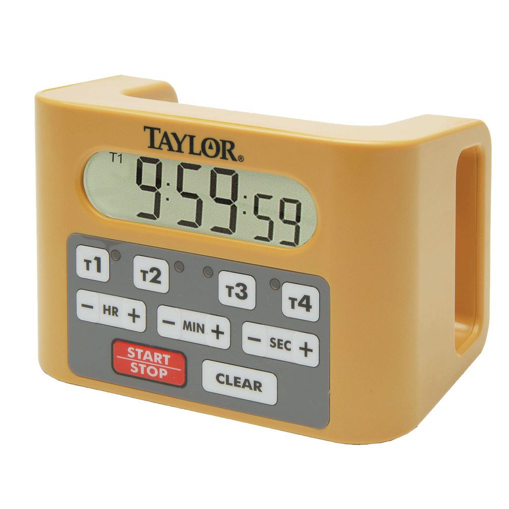 TIMER, FOUR EVENT COMMERCIAL, 4.25X6.25X4