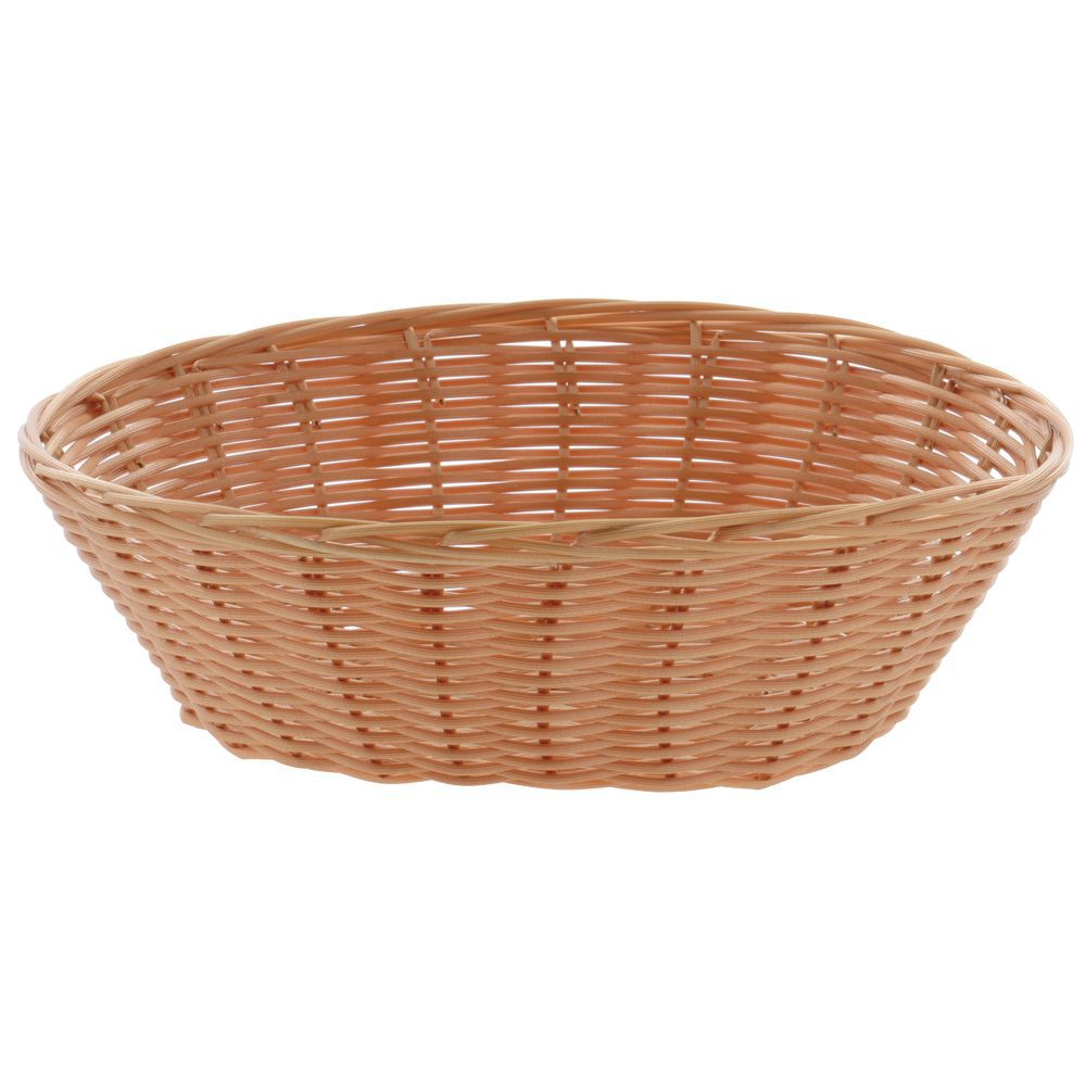 """Syntheticl Basket is Oval10""""L x 7 1/2""""W x 3 1/4""""H"""