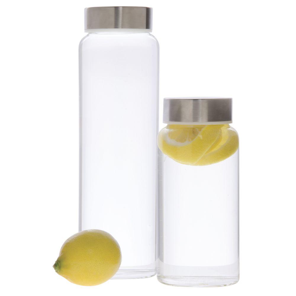 Libbey® Kinetix Glass Water Bottle with Lid 33 Oz