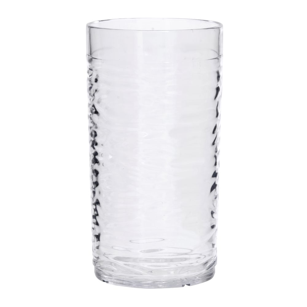 Hubert® Watermark Clear Plastic Tumblers 15 Oz