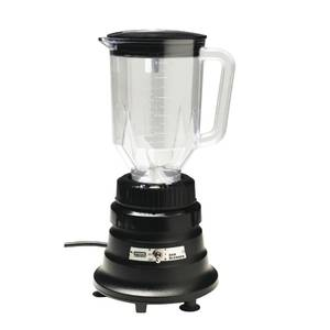 BAR BLENDER, 48 OZ PLASTIC CONTAINER