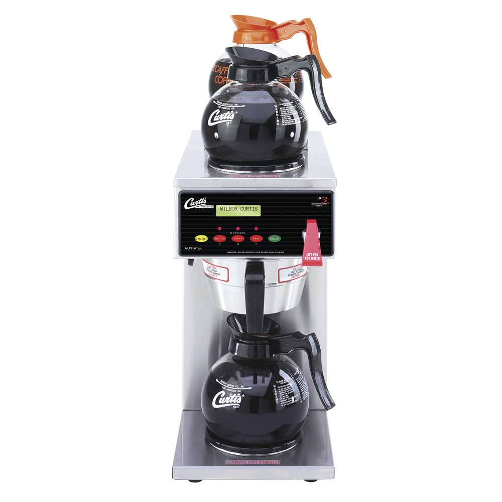 BREWER, AUTOMATIC, 3 WARMERS