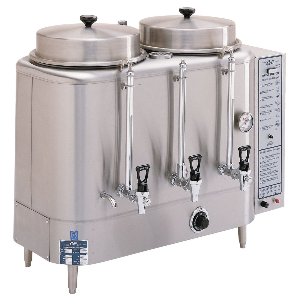 URN, COFFEE, AUTOMATIC, TWIN, 3 GALLON
