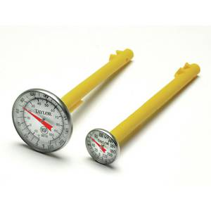 "EASY READ THERMOMETER, 0/220F, 1-3/4""DIAL"