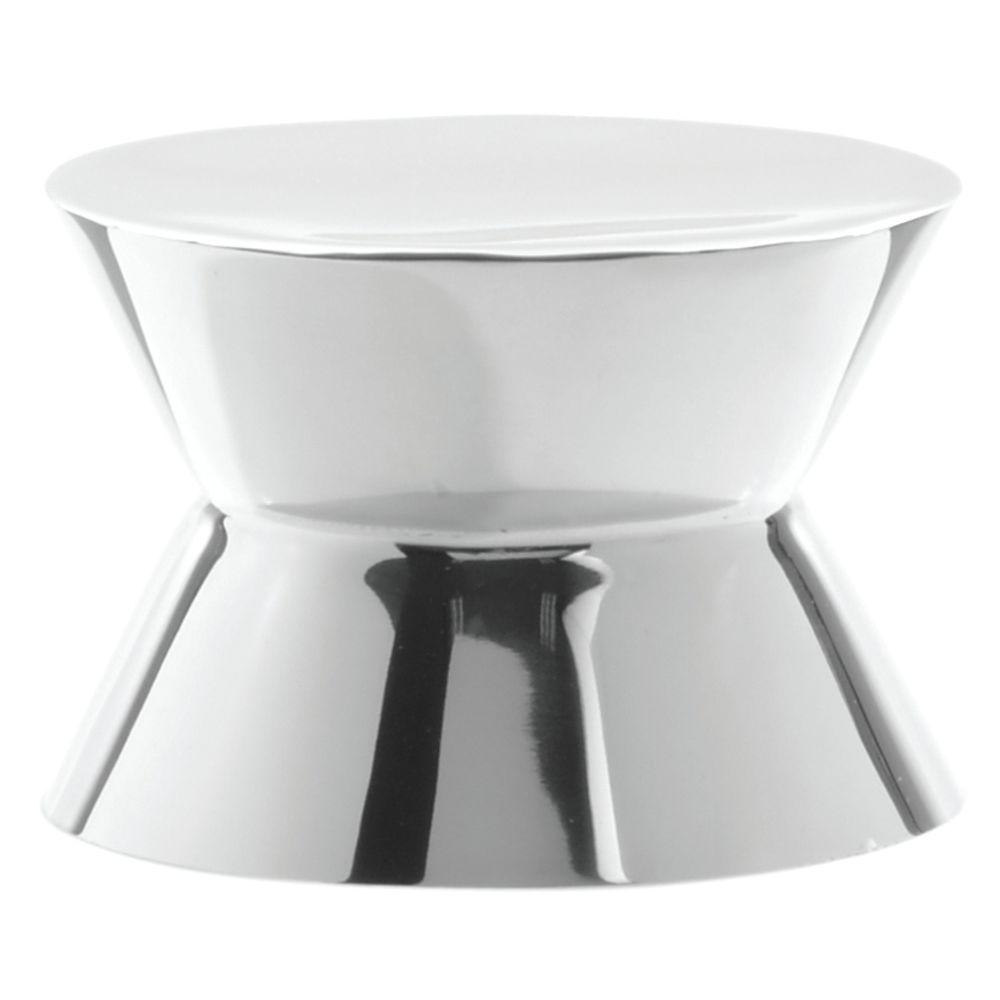 "Round Stainless Steel Pedestal Riser 6"" dia x 4""H"